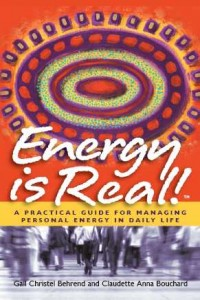 """""""Energy Is Real"""" book cover"""